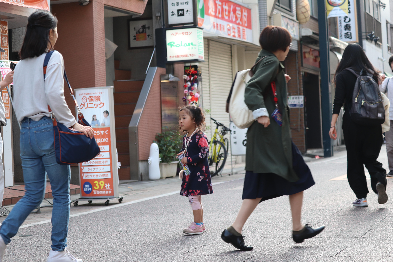 はじめてちゃれんじフォトギャラリー@戸越銀座商店街